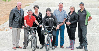 BMX TRACK REDESIGN CELEBRATED